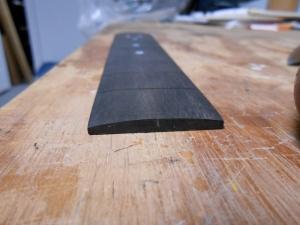 fretboard nut end